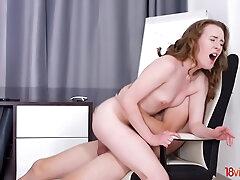 Teen Emma Fantazy hide-out mates hot bonking
