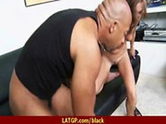 Mature lady gags and gets banged by a black cock 29