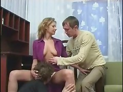 Mom 2 Sons fucking anal