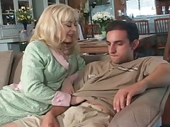 Lonely MILF Seduces Son - Cireman