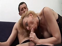 Italian Mature With Her Son