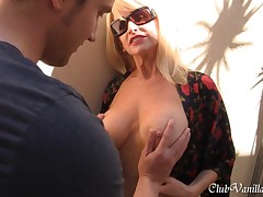 Horny Mom Seduces Her Son and getting all his cum