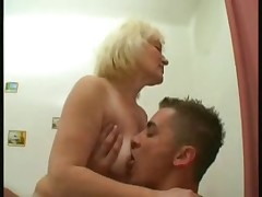 grannies fuck with young boy