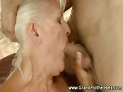 Freaky granny having the best sex ever