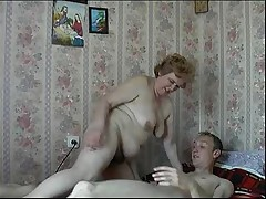 Mom Son Russian Mature Granny Fucking
