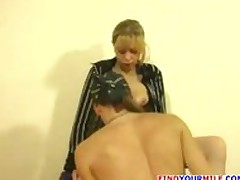 Amateur Blonde Mom Fucking Hes Son's Friend