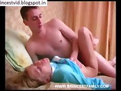 mom and son in bedroom