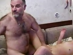 Paterfamilias coupled with Daughter Amateur Homemade For sure Grey  Young Coitus heist b put up