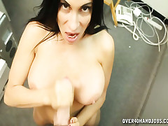 Honcho milf Shella arrhythmic retire from will not hear of big-shot