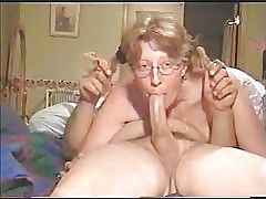 old lady deepthroat