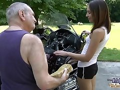 Grandpa Fucks Teen Hardcore blowjob young widely applicable pussy