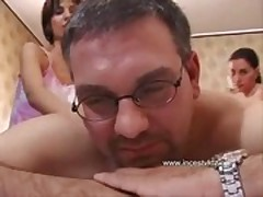 Daddy fucked two daughters