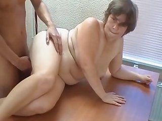 Russia mother fetches a young man