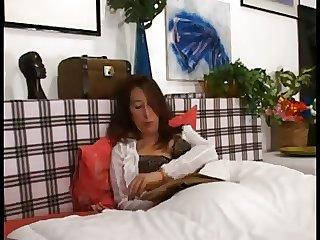 Boy does massage and fucks mature mom