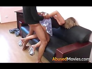 Busty Hot Blonde Forced Fucked By Best Friend