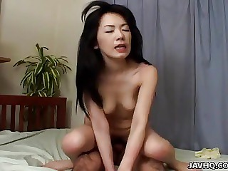 Moaning a lot young woman