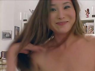 Korean mom sucking cock