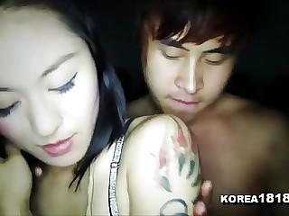 Randy Korean girl fucking