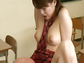 Teacher fucked the Korean slut