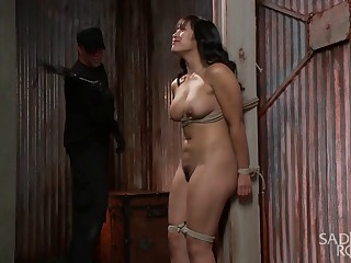 Asian Bondage Slut gets Destroyed!