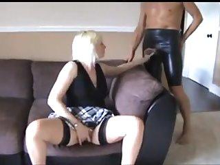 Kinky Kaylee takes a hard cock