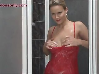 Milf is soaked and slippery