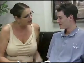 Masturbated by a teacher MILF