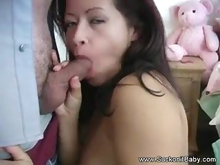 Latina MILF Loves Giving Head