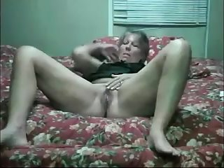 old with dildo