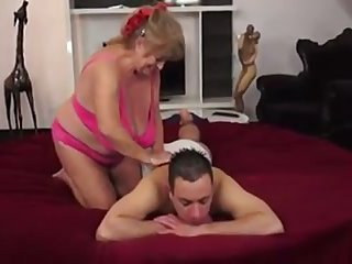 granny loves his cum