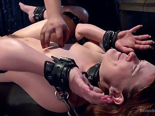Hot Red Head gets Tormented and arse Fucked