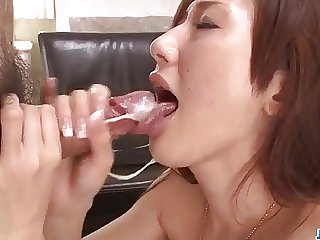 Large cocks to please filthy Japanese Yura Kasumi