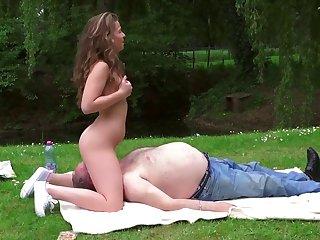 sweet teen outdoor