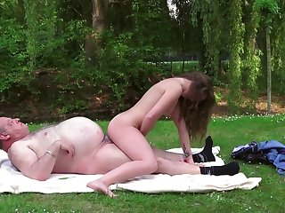 sweet teen outdoor
