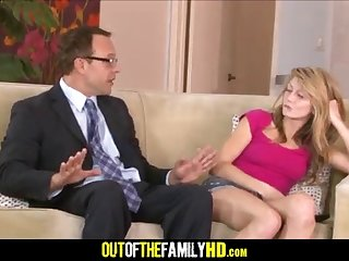 Hot Daughter Fucked Dad