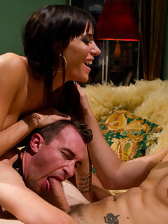 <!–-IMAGE_COUNT-–> of The hot wife humiliating a cuckoling husband