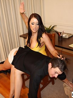 <!–-IMAGE_COUNT-–> of Alexis Spanks Boyfriend at Office