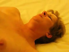 Hot granny gets fucked and clit massage